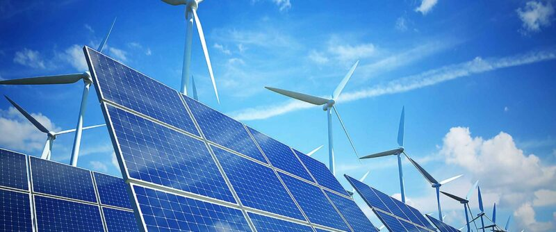 Solar Panels and Wind Energy