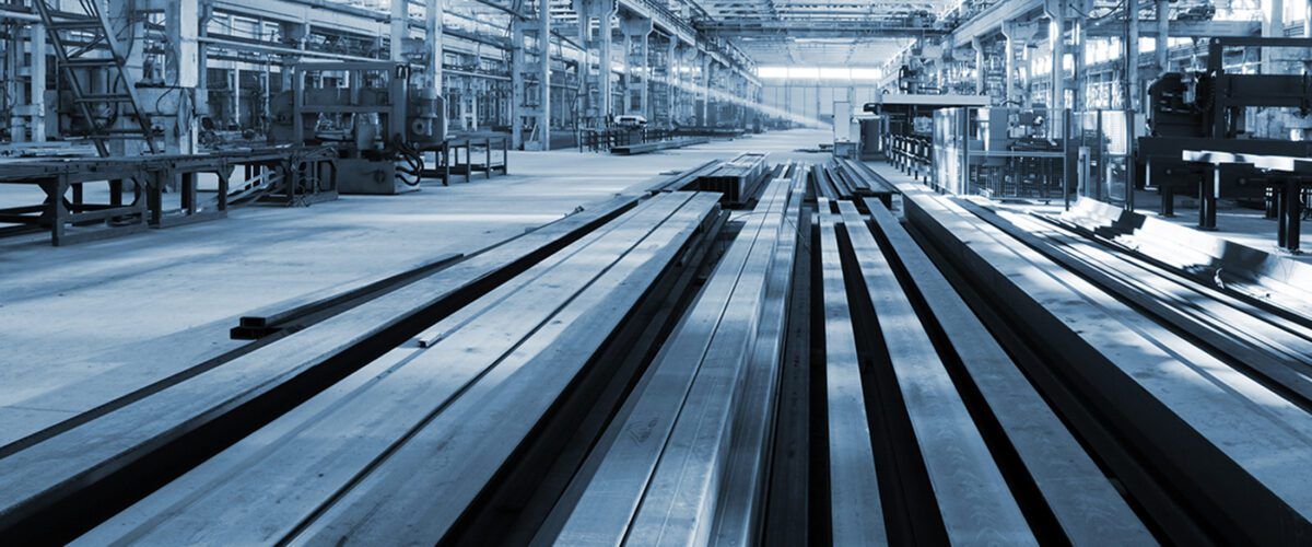 International insurance solutions - image of metalworking plant
