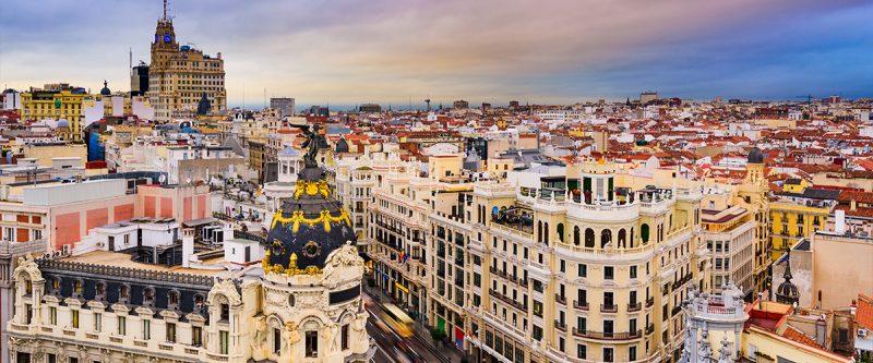 Madrid - City Scene