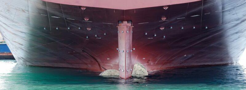 Hull of a ship