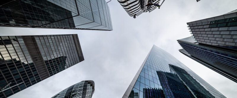 Delegated Underwriting Authority - London Business District Lloyds building and Gherkin and other office buildings