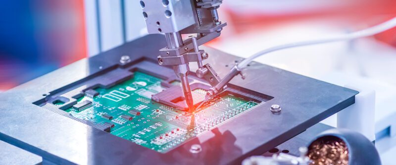 Tech Insurance | Image: Soldering iron tips of pcb board