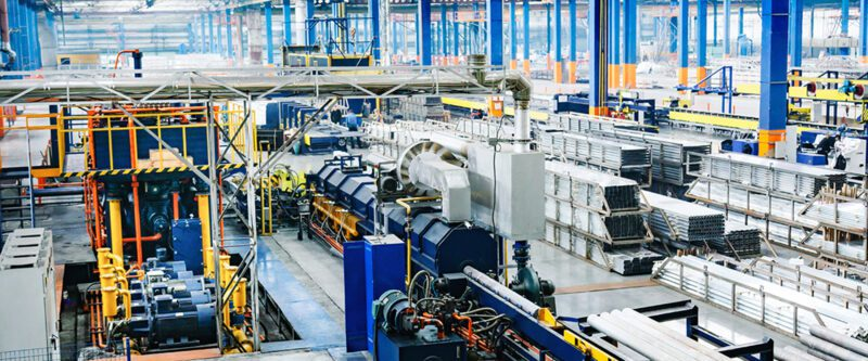 Manufacturing Insurance   Image of inside of a manufacturing plant