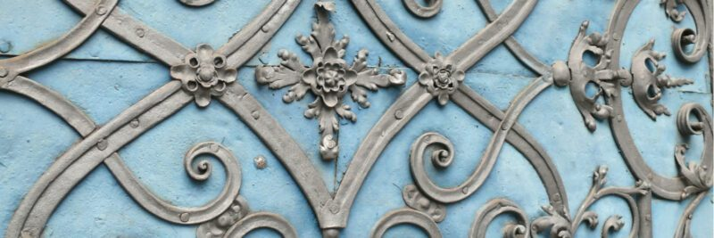 Personal Lines Insurance - Close-up of a decorated outside door of a house